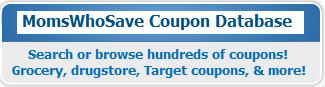 MomsWhoSave.com coupon database image