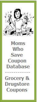 MomsWhoSave Coupon Database - grocery and drugstore coupons