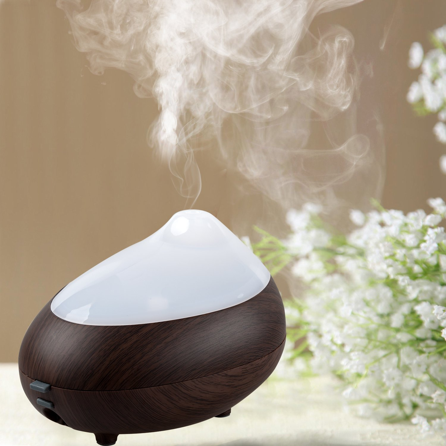 Dark Wood Essential Oil Diffuser