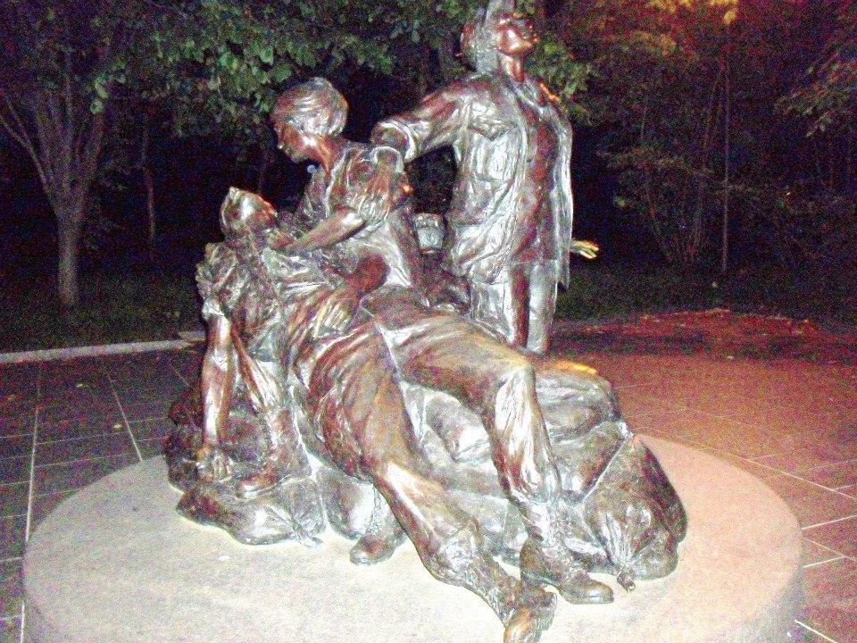 Korean War Memorial to the nurses
