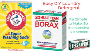 diy laundry soap recipe