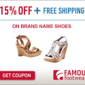 Print Your Famous Footwear Coupon for an Extra 15% Savings