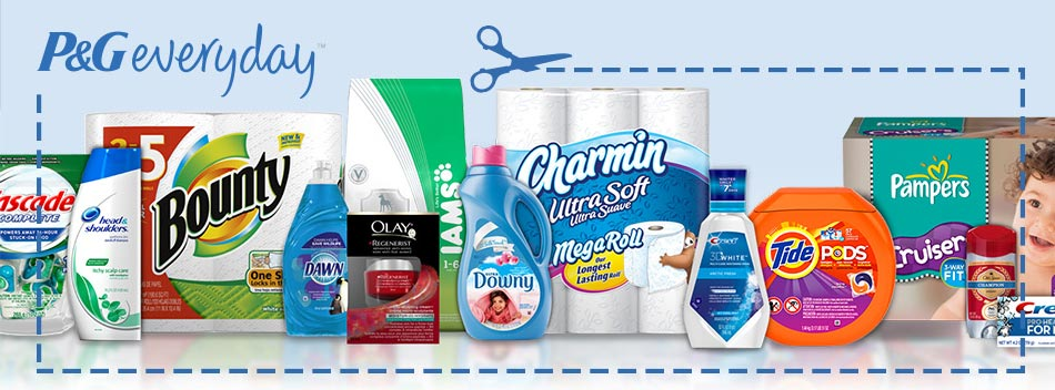 Procter and Gamble coupons