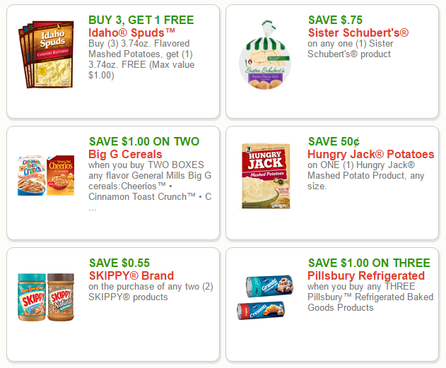 New Printable and Mobile Coupons for Groceries, Baby, Pet, & Drugstore Items, & More!