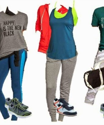 Old Navy Mix & Match Fitness Board