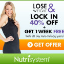 40% Off and One Week Free Now at Nutrisystem!