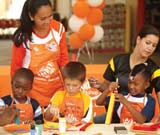 Fun & Free Workshops for Kids at Home Depot