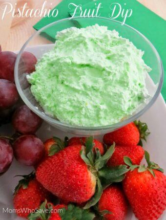 pistachio fruit dip