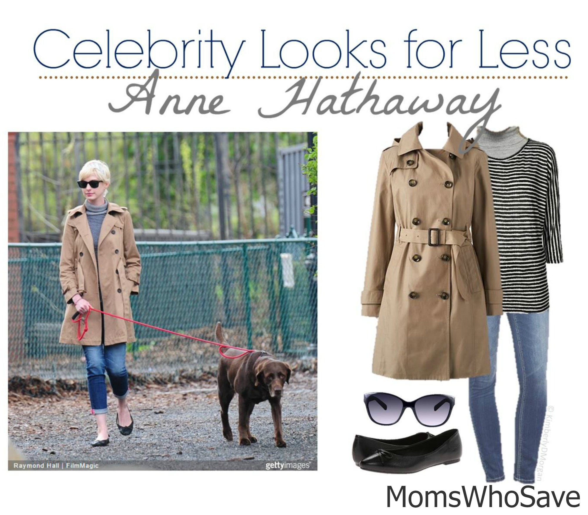 Celebrity Look for Less -- Anne Hathaway