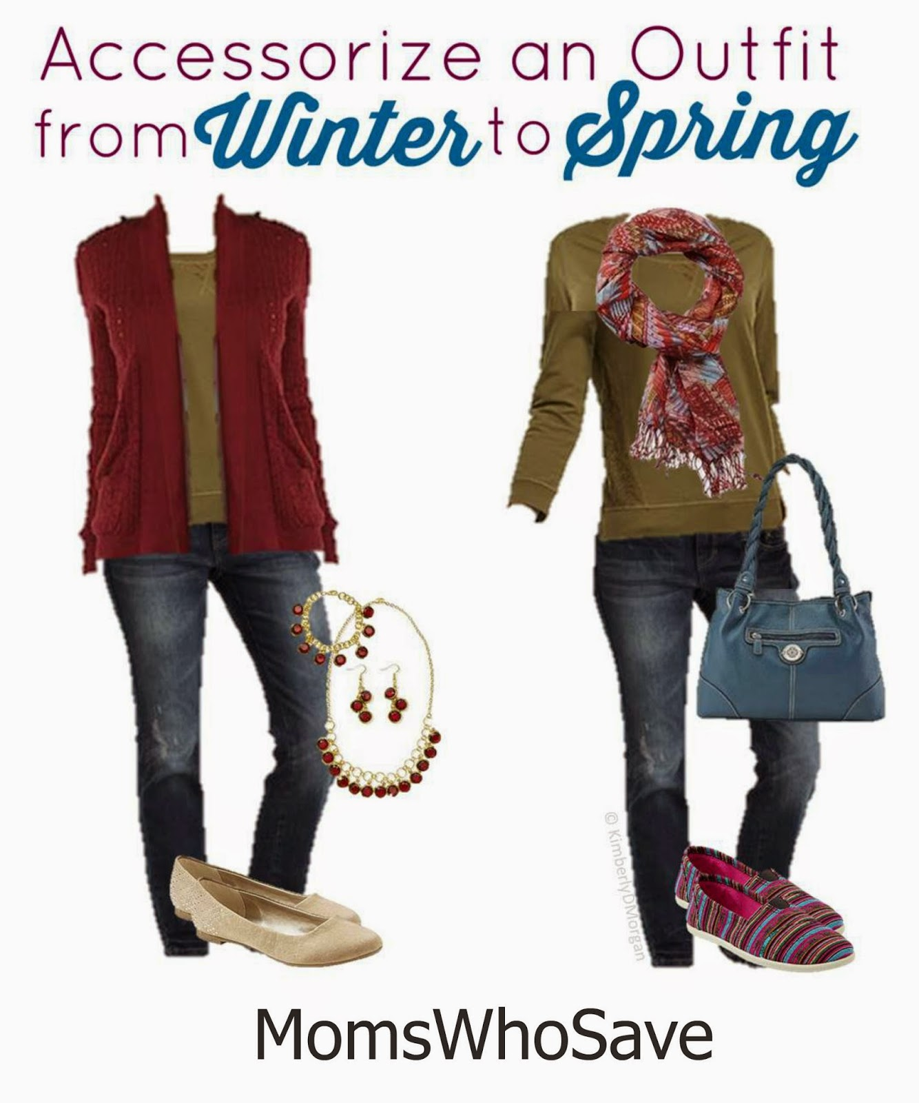 Winter to Spring Outfit on a Budget