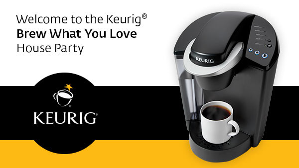 Keurig Brew What You Love House Party + How You Can Have Your Own House Party!