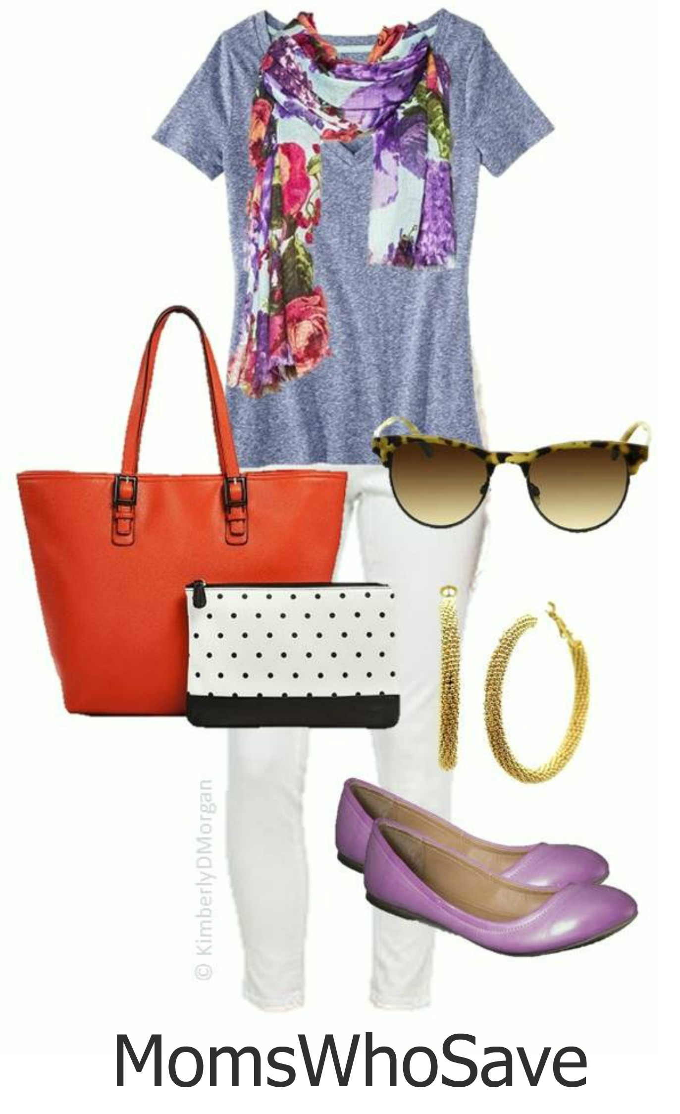Colorful Spring Oufit -- Budget Friendly Too!
