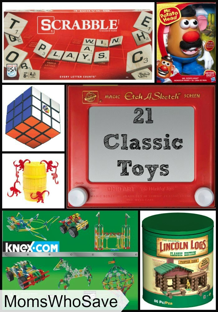 21 Classic Toys — Bring the Fun You Remember to Your Kids!