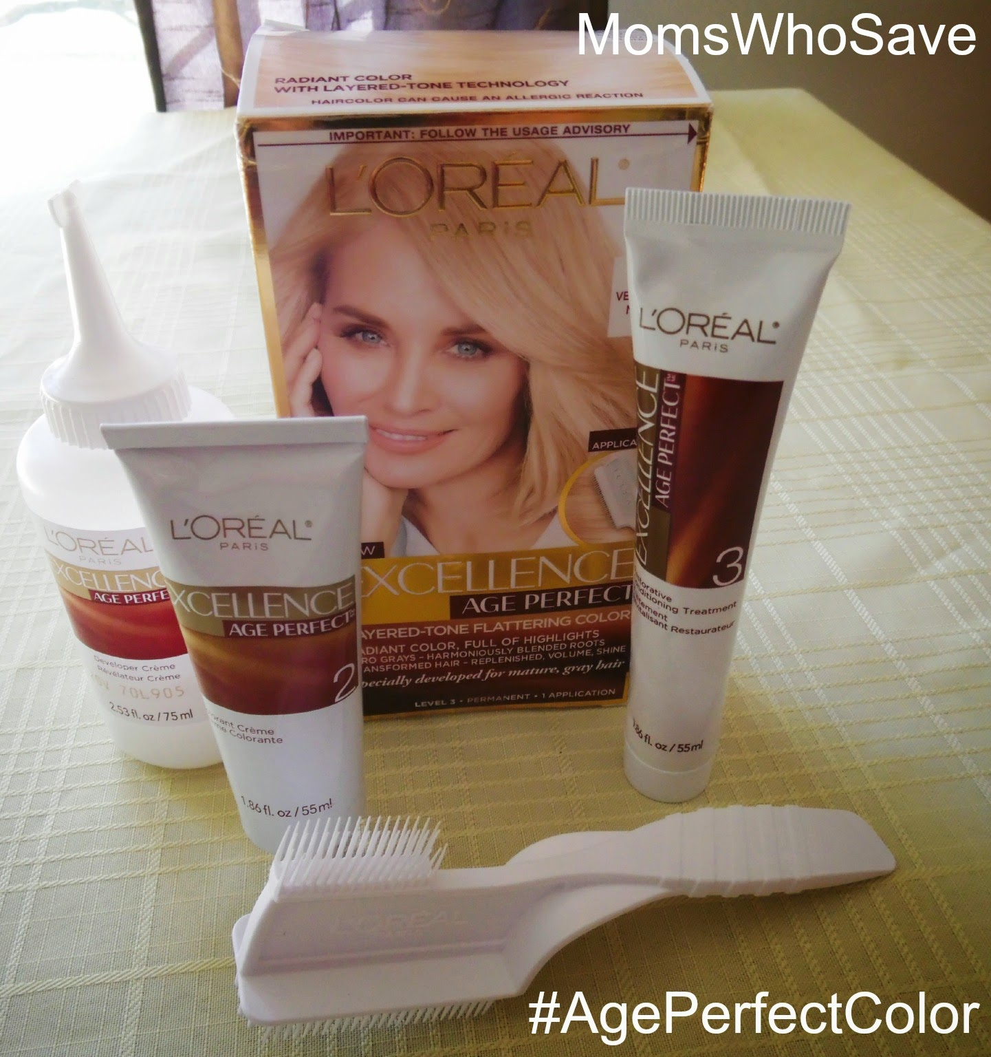 No Grays, No Roots -- Just Highlighted, Natural-Looking Color With L'Oreal Age Perfect Hair Color