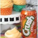 Orange Crush Soda Cupcakes