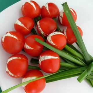 stuffed tomato tulips recipe