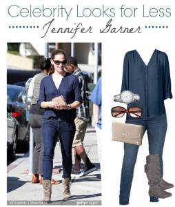 Celebrity for Less Jennifer Garner