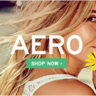 Extra 30% Off Clearance + More Savings at Aero Online