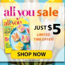 All You Magazine Just $5 for a One-Year Subscription