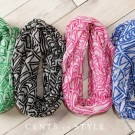 Art Deco Print Infinity Scarves Just $7.99 With Free Shipping