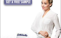 Cottonelle free sample