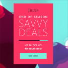 Julep — Up to 75% Off End-of-Season Deals – Offer Extended!