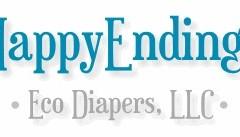 Logo for HappyEndings with tm