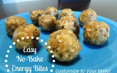 Easy No-Bake Energy Bars