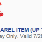 Free Apparel Item at Sears Outlet (Up To $10 Value) Tuesday Only