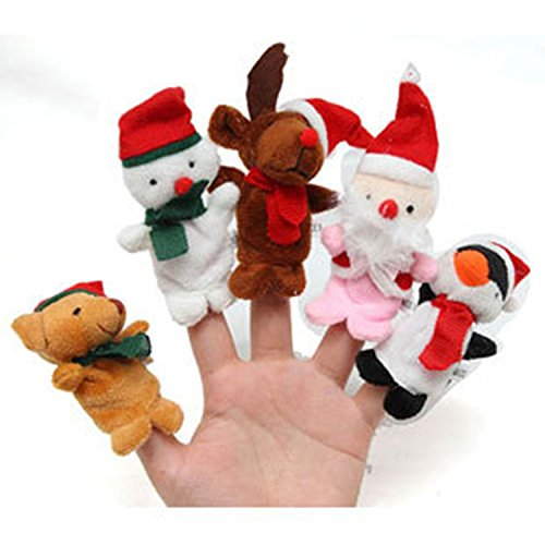 Set of 5 Christmas Finger Puppets $3.99 Shipped + More Sets Under $4