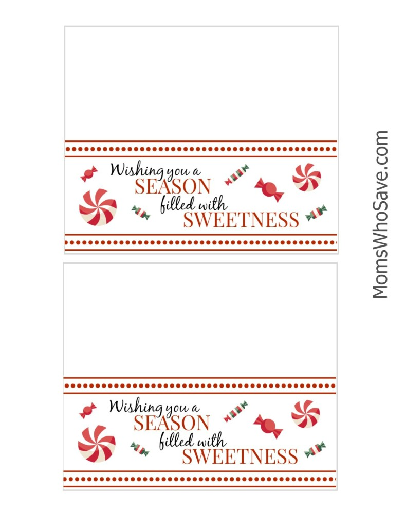 Holiday Treat Bag Printable