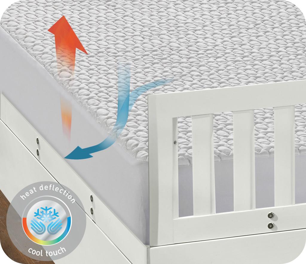 cooling crib mattress protector