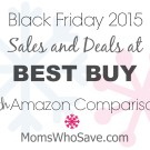Black Friday Deals at Best Buy PLUS Amazon Price Comparisons