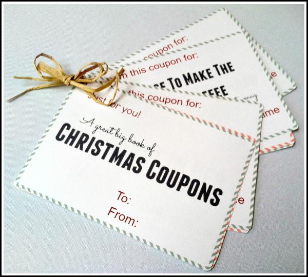 free Christmas coupon book