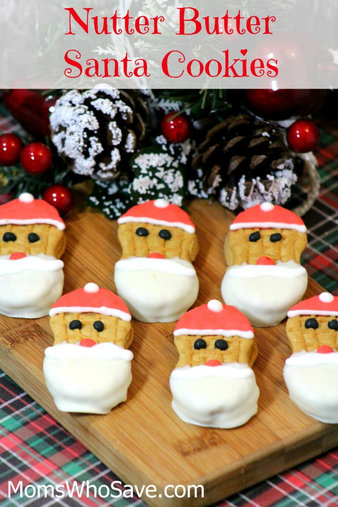 Nutter Butter Santa Cookies | MomsWhoSave.com