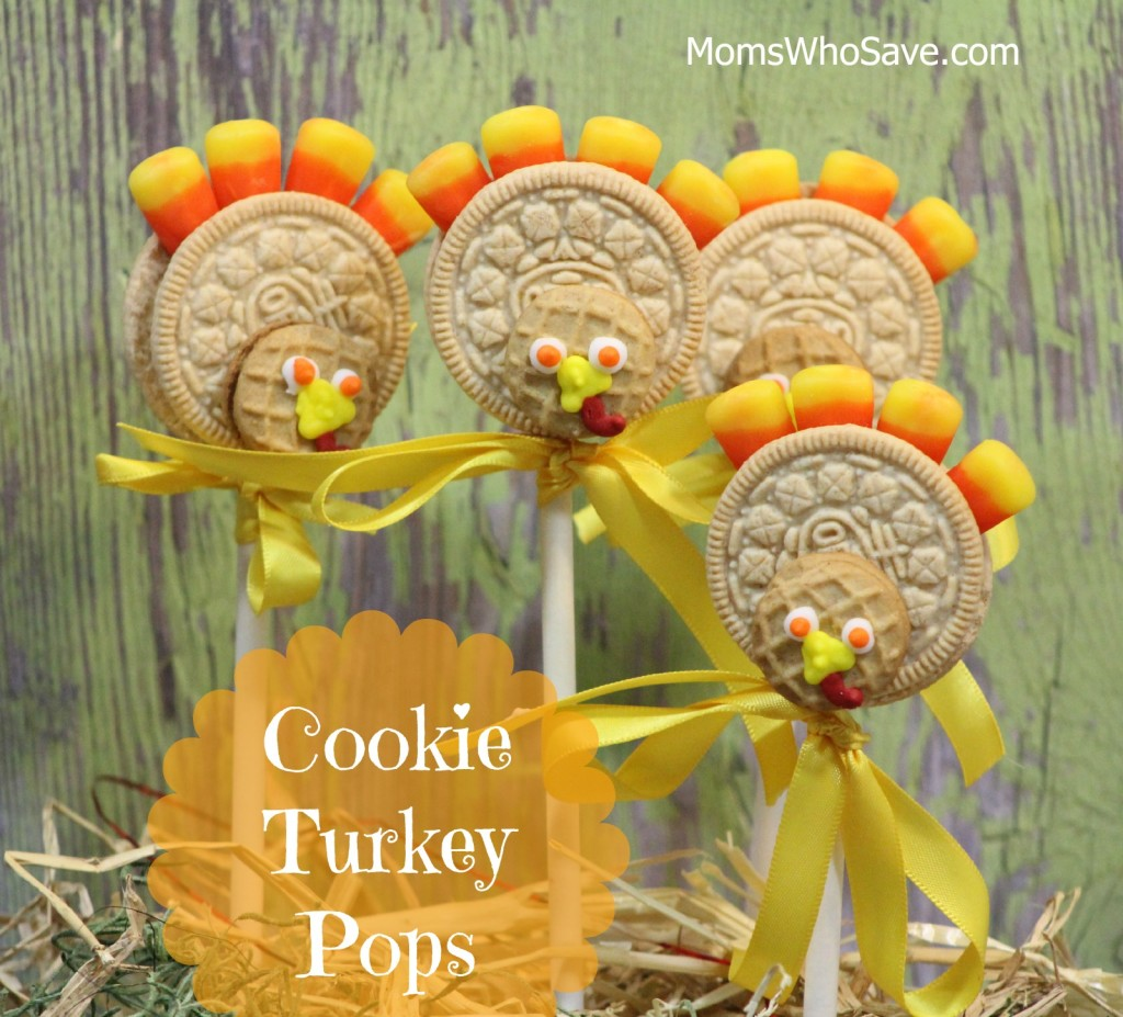 cookie turkey pops
