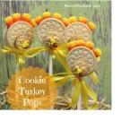 Turkey Cookie Pops