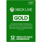 Microsoft XBOX Live Gold 12-Month Membership $47.99 (Reg. Price $59.99)