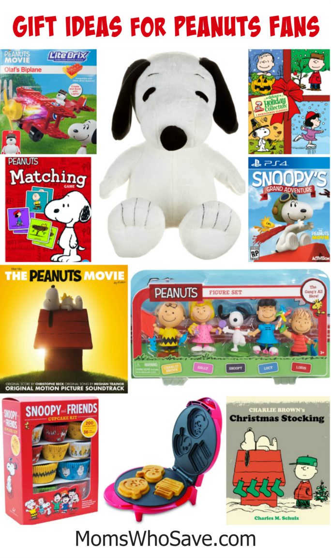 gift ideas for Peanuts fans