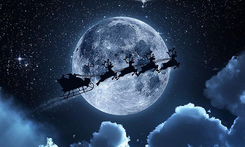 track santa's sleigh