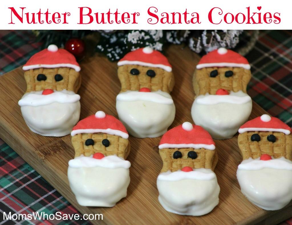 Nutter Butter Santa Cookies | MomsWhoSave.com