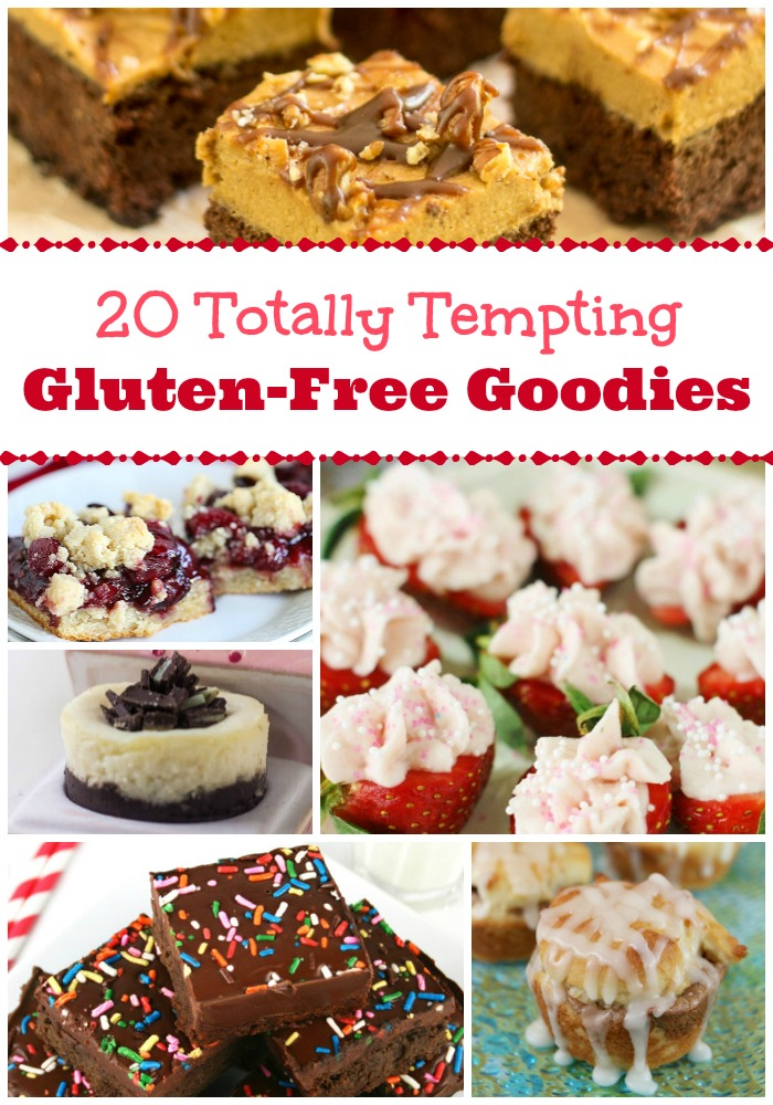20 Totally Tempting Gluten Free Goodies - Blank