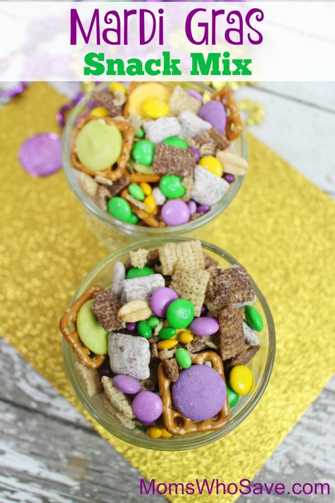 Mardi Gras Snack Mix