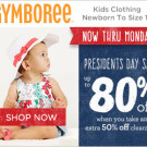 Gymboree — Extra 50% Off Clearance for Total Savings up to 80%, Accessories Start at $1.99!