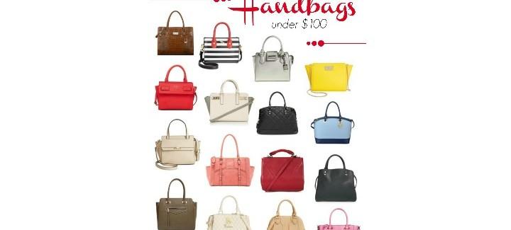 16 Structured Handbags Under $100