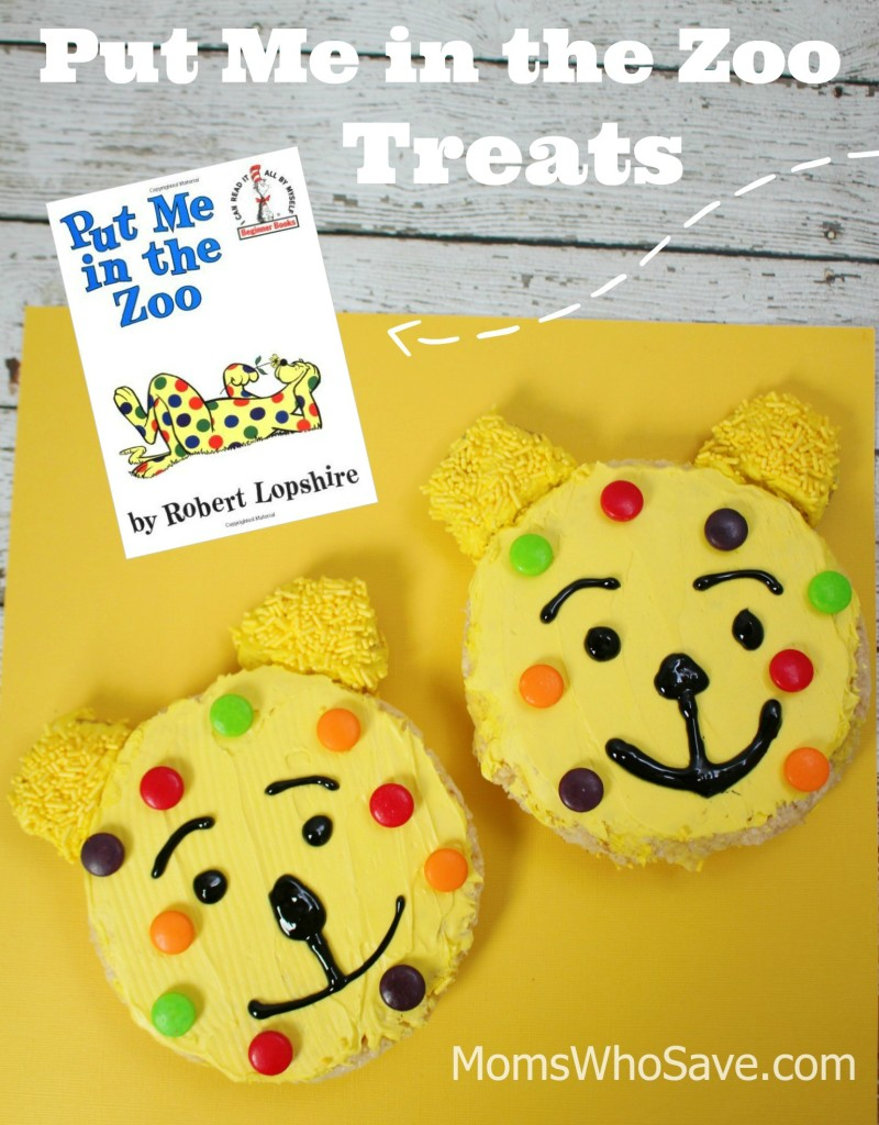 Put Me in the Zoo Book PLUS Rice Krispie Treats | MomsWhoSave.com