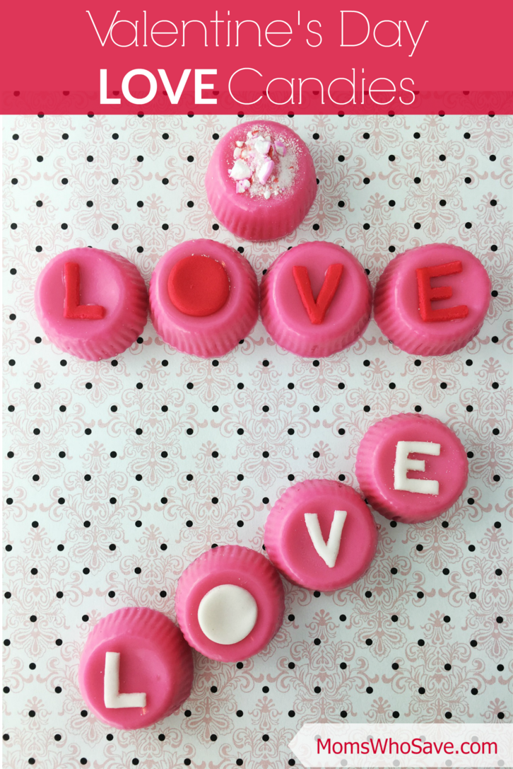 Valentine's Day LOVE Candies