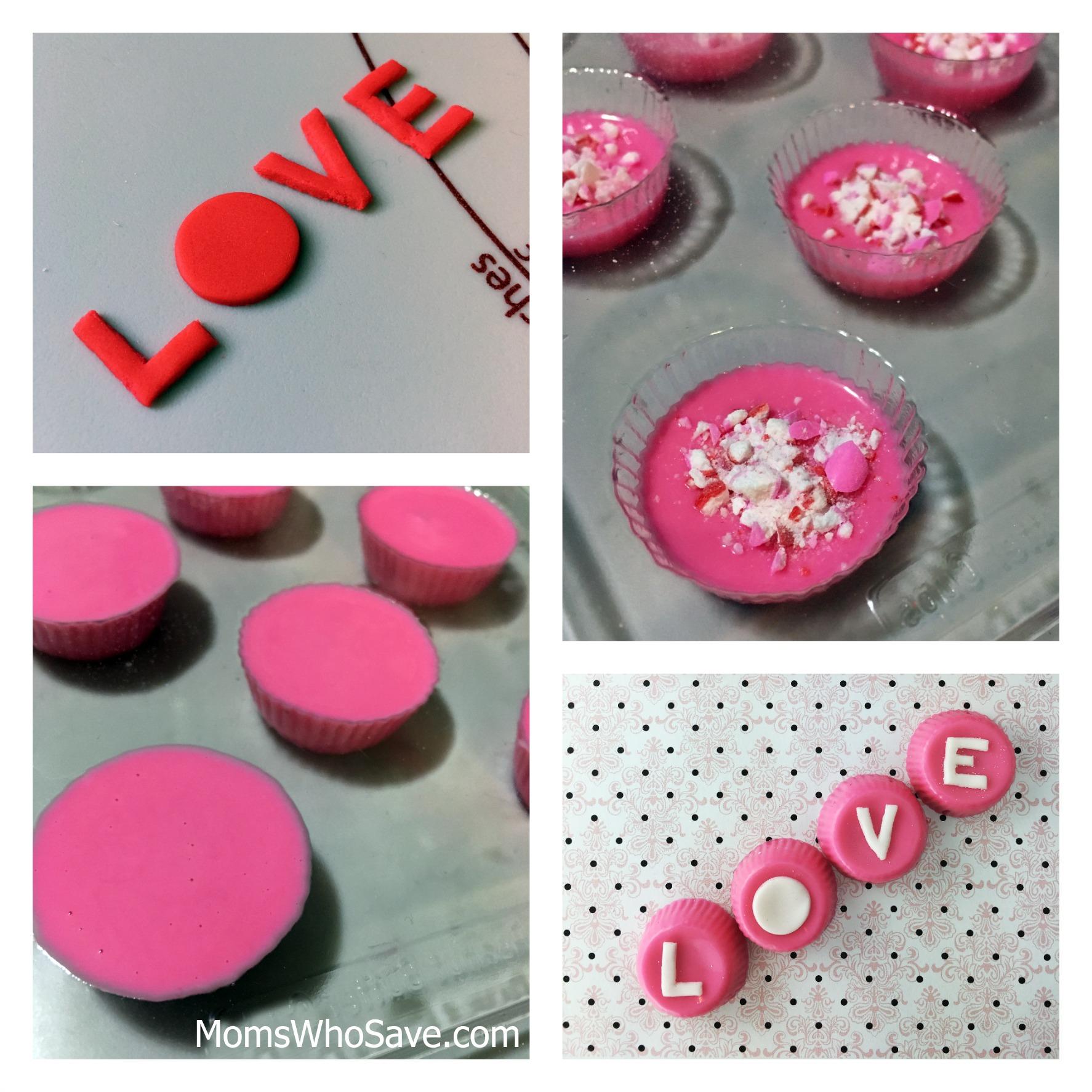 Valentines Day LOVE candies