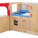 Guidecraft Swing Door Pretend Play Kitchen Now $99.95 (Was $779.99)