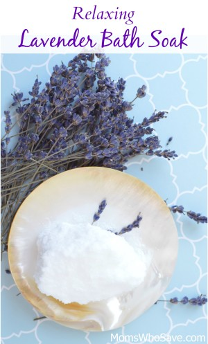 lavender bath soak recipe